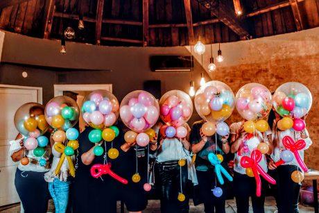 Tečaj izrade balon dekoracija polaznice i polaznici